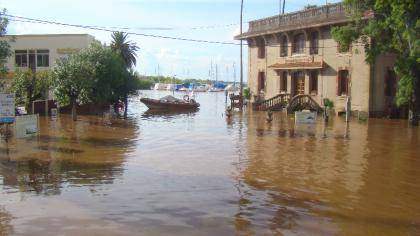 colon inundada