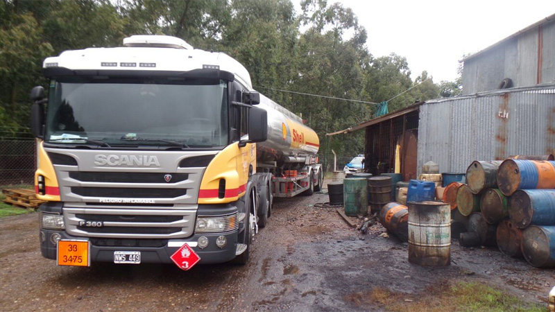 camion shell-venta combustible